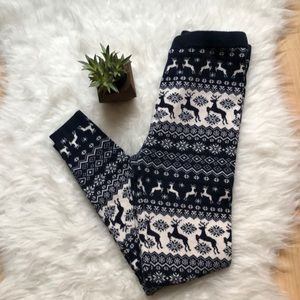 Extra warm printed Legging